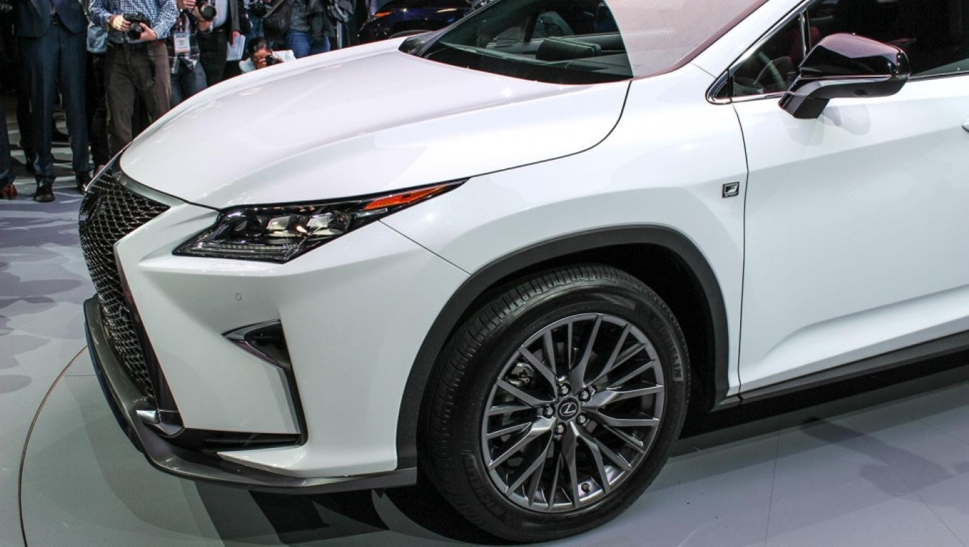 2020 Lexus Rx 350 Wheel Size & Dimensions