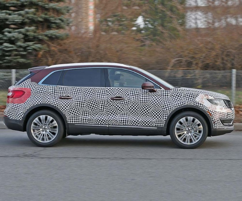 2020 Lincoln Aviator Spied Pictures