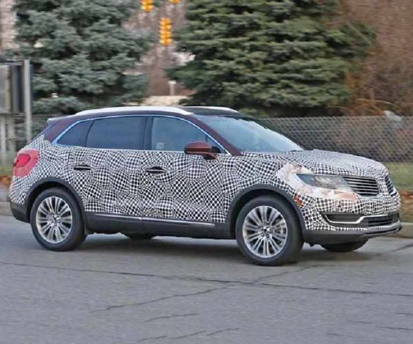 2020 Lincoln Aviator Spy Photos