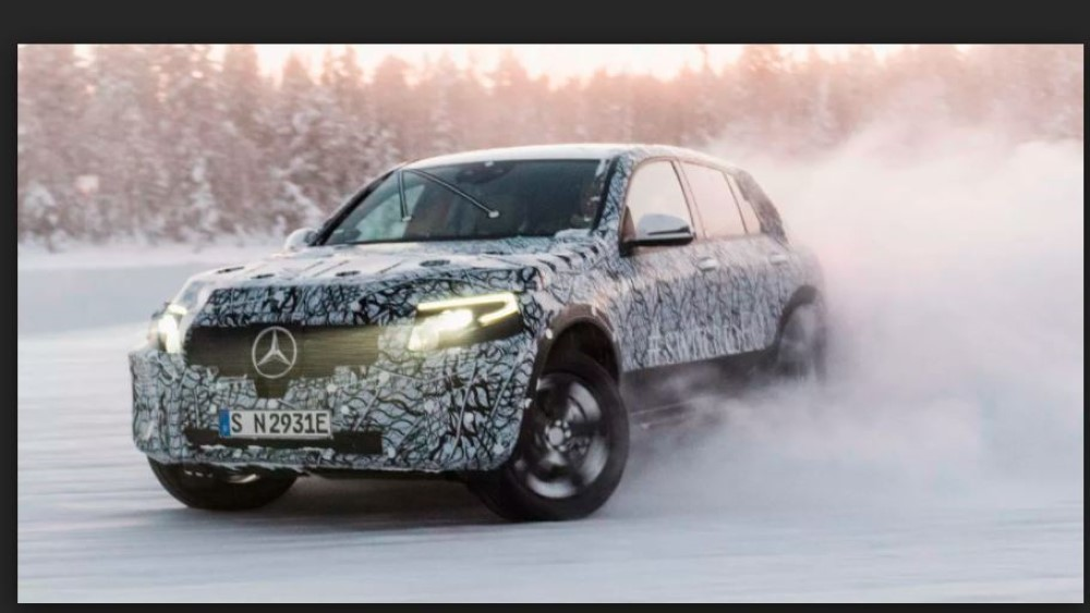 2020 Mercedes EQC Spied Images