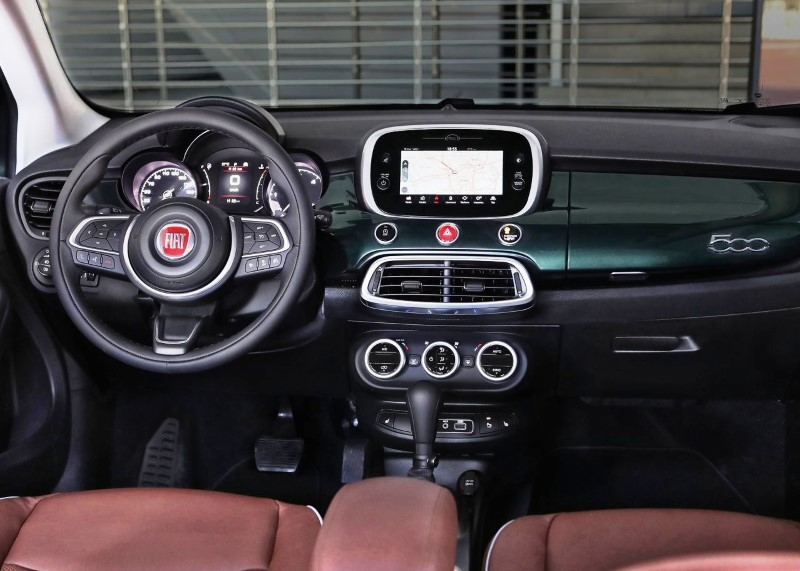 2020 Fiat 500X Interior Features
