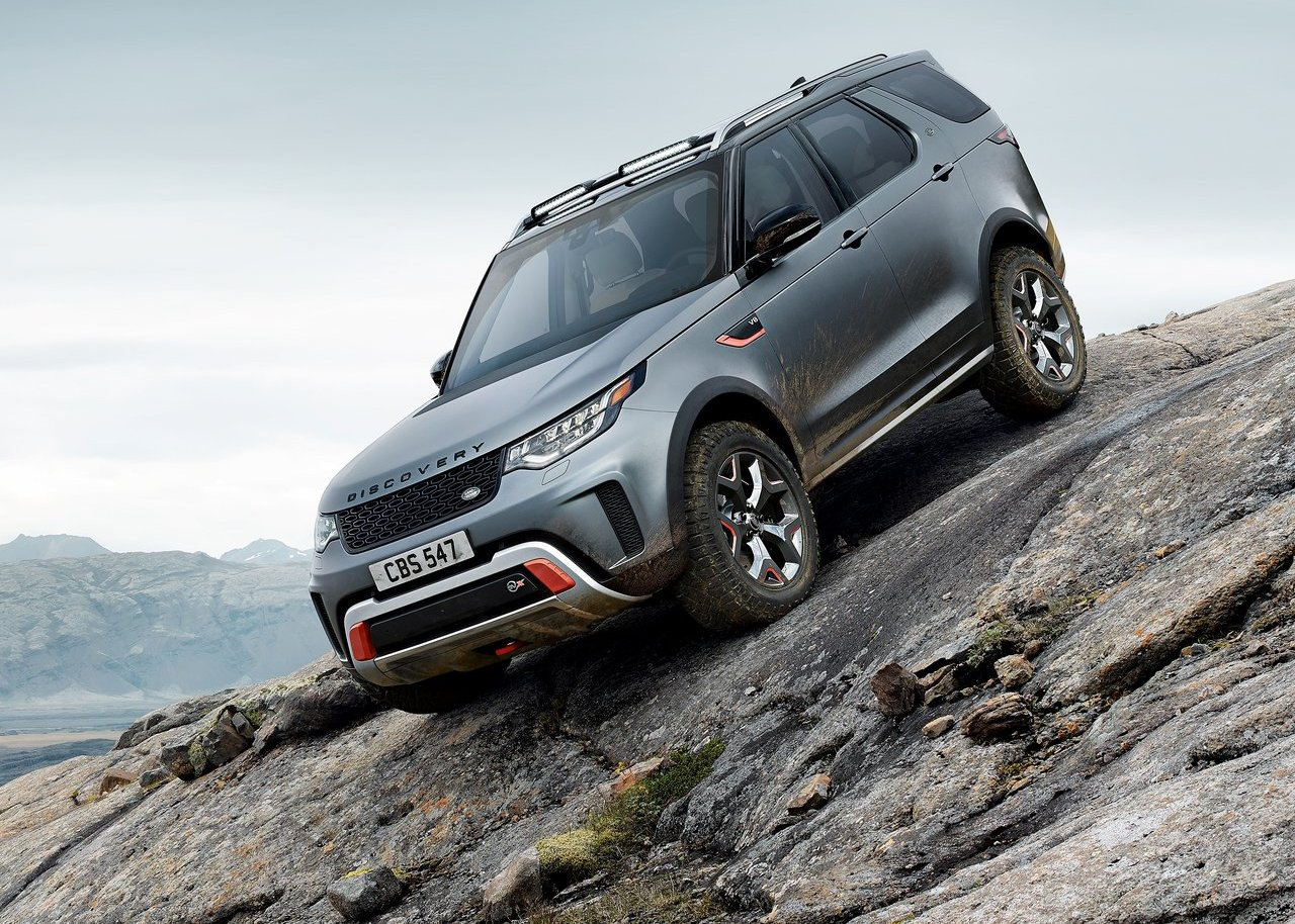 2020 Land Rover Discovery Svx Ground Clearance