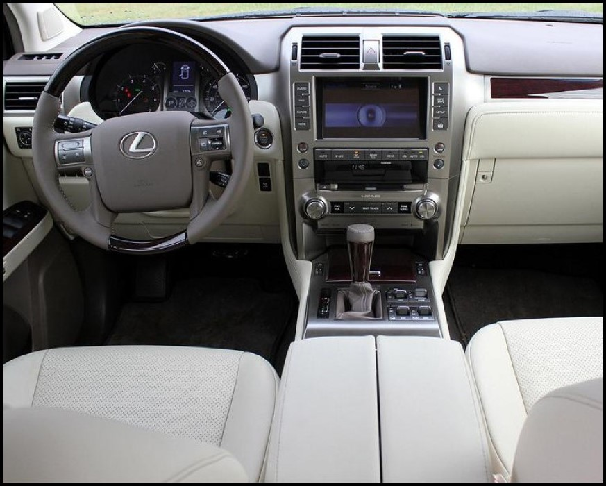 2020 Lexus GX 460 Interior Features