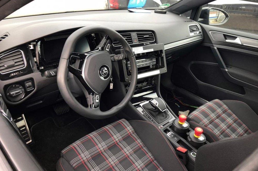 2020 vw golf gti interior new features new suv price. Black Bedroom Furniture Sets. Home Design Ideas