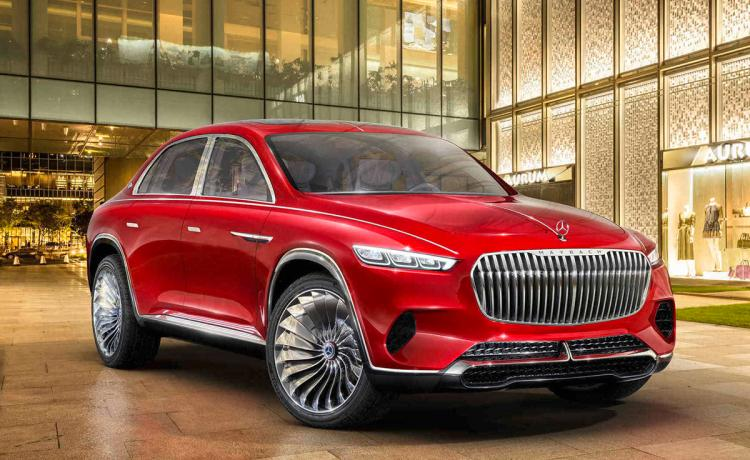 2020 Mercedes-Maybach SUV Concept Engine & Platform