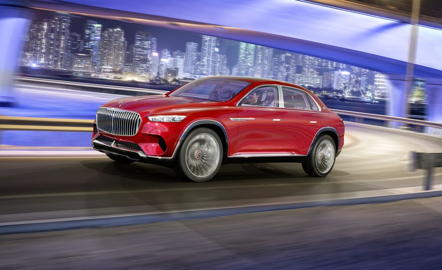 2020 Mercedes-Maybach SUV Hybrid Engine
