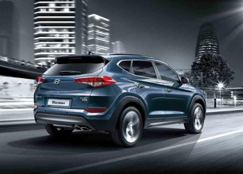 2020 Hyundai Tucson Blue Colors Exterior Photos - New SUV ...