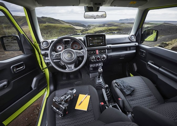 2020 Suzuki Jimny Interior Features - Dashboarada