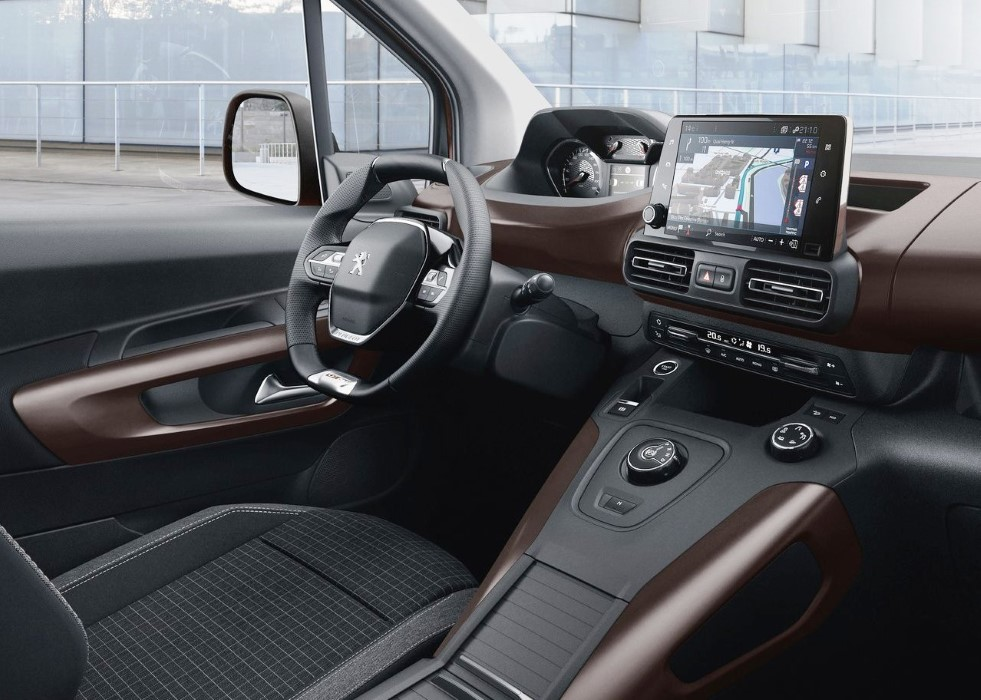 2019 Peugeot Rifter Interior Features