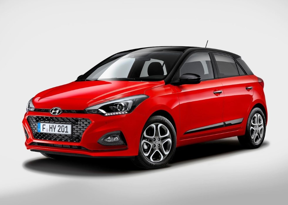 2020 Hyundai i20 Colors Options