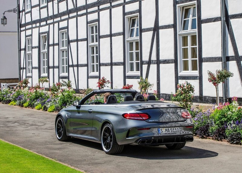 2020 Mercedes-Benz C63 S AMG Cabriolet Lease Deals