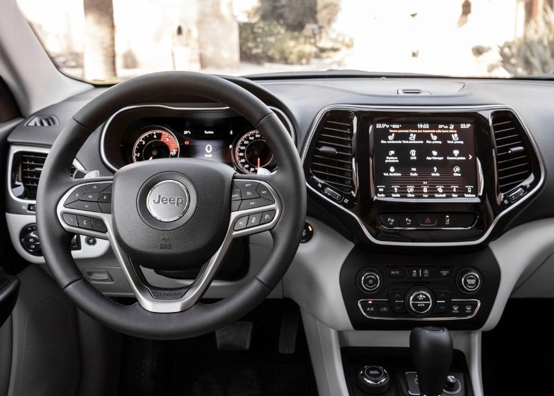2019 Jeep Cherokee Multijet 2.2 Infotaiment Interface