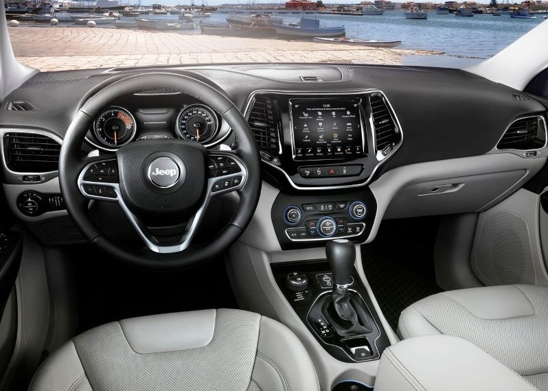 2019 Jeep Cherokee Multijet 2.2 Interior Changes