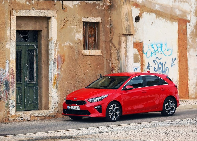 2019 Kia Ceed GT Line Red Color