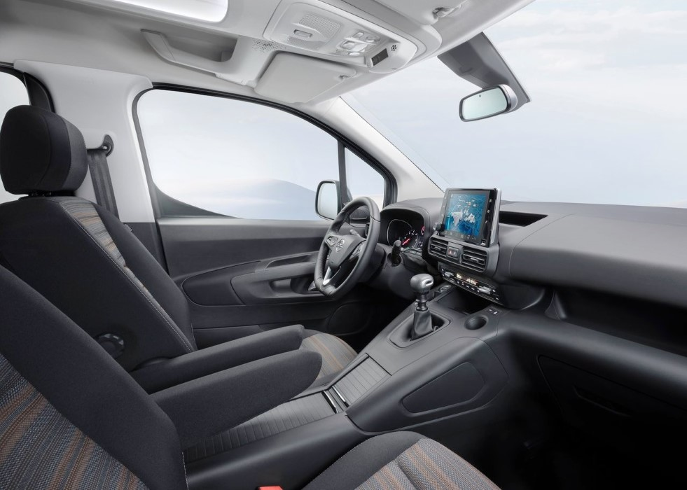 2019 Opel Combo Life Interior Features