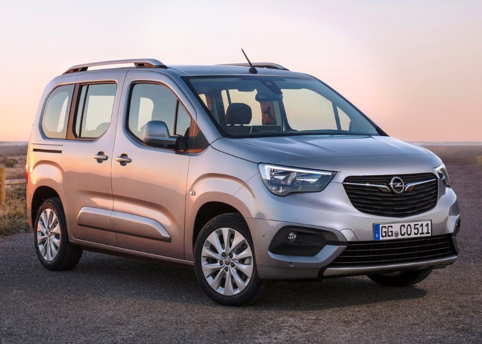 2019 Opel Combo Life Specification