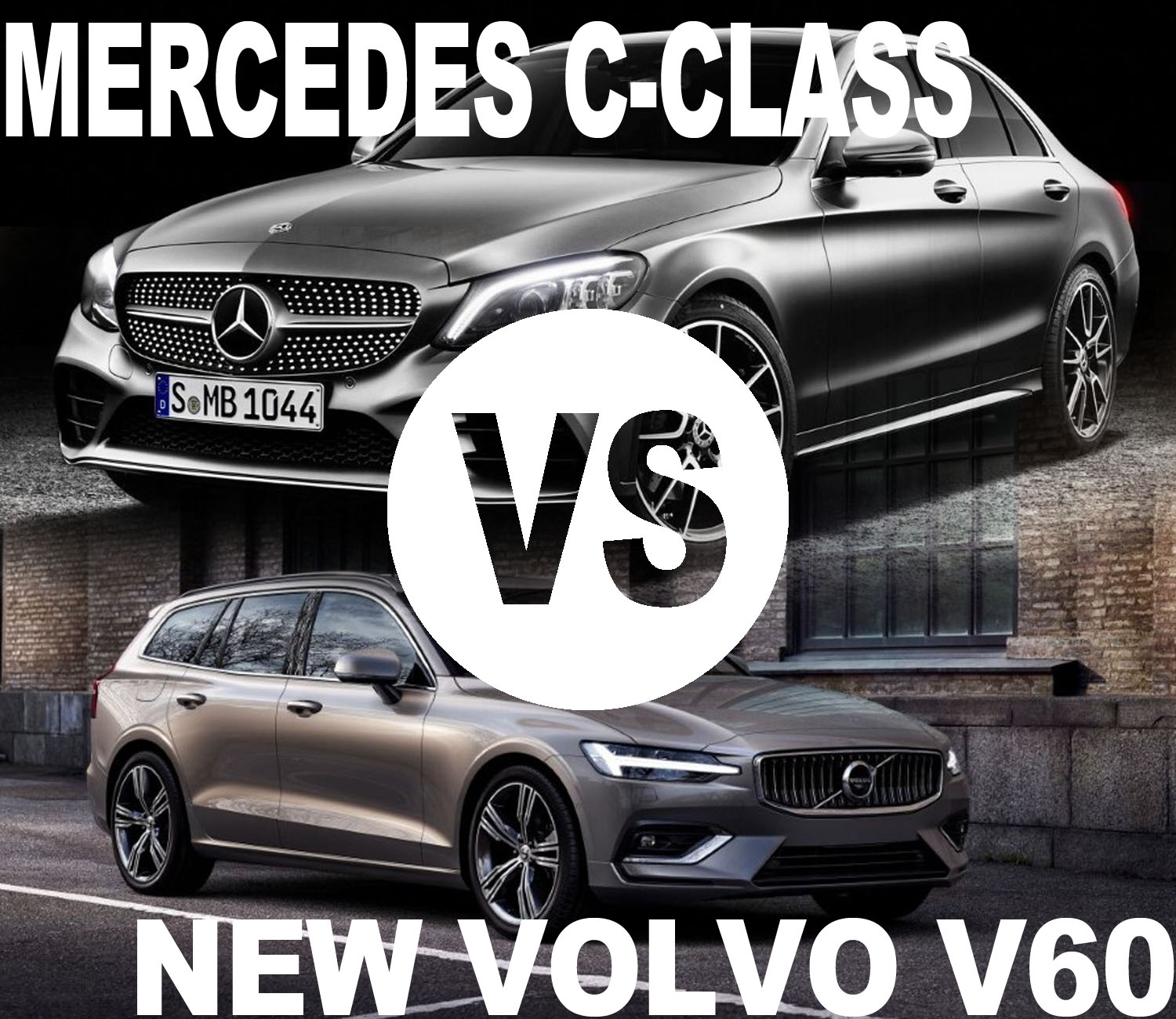 2020 Volvo V60 VS Mercedes C-Class Design