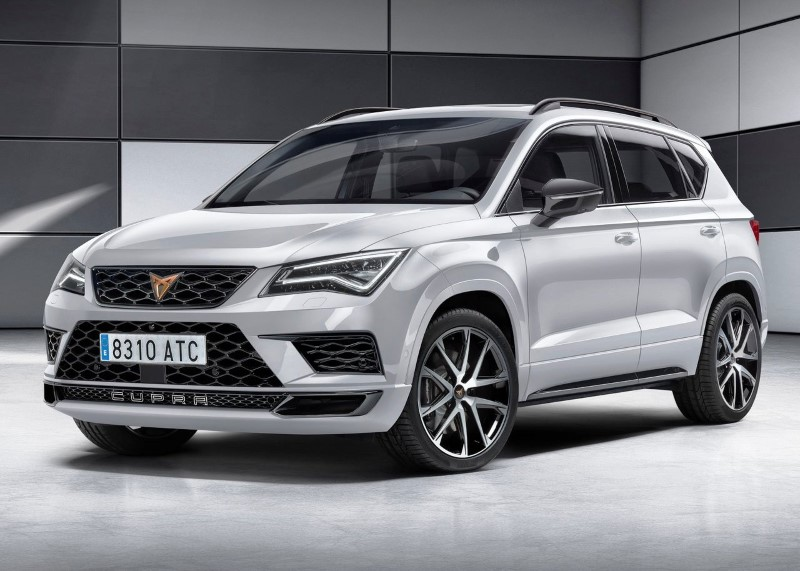 2019 Cupra Ateca Colors & Configurations