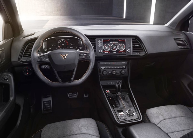 2019 Cupra Ateca Interior Features