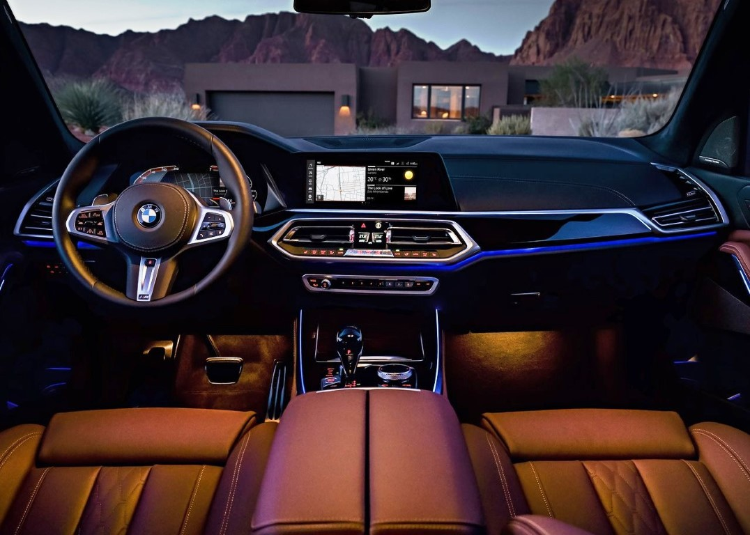 2020 BMW X5 M50d Interior Features With CLAR Platform