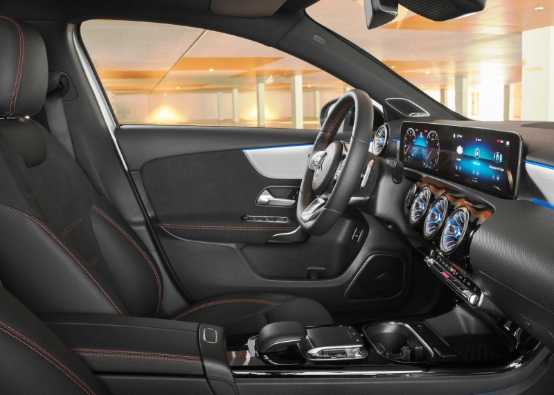 2020 Mercedes A-Class Sedan Interior Volume