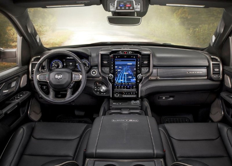 2020 RAM 1500 Center Console Review