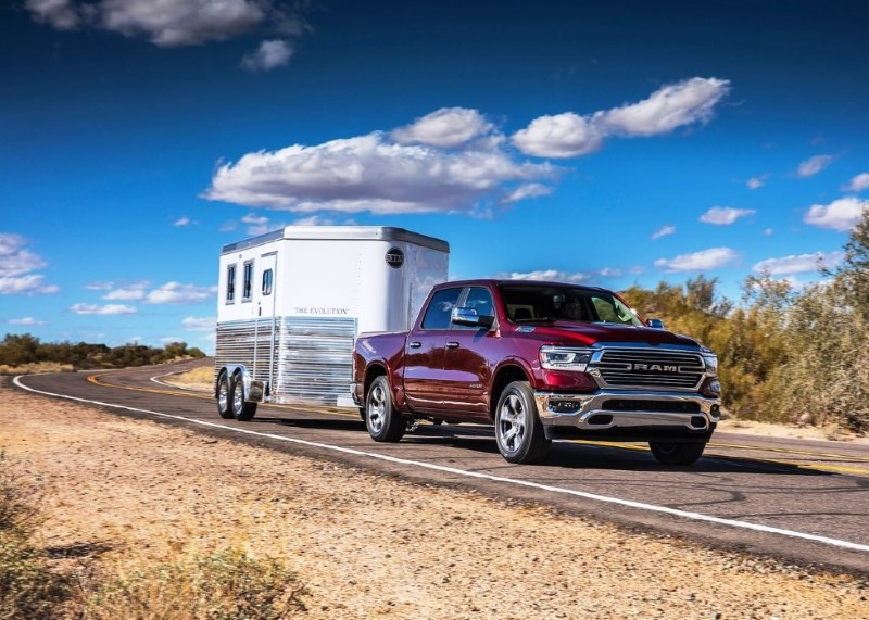 2020 RAM 1500 Towing Capacity VS Ford F150