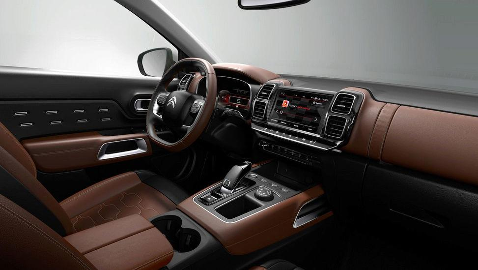 2020 Citroën C5 Aircross Interior Dashboard