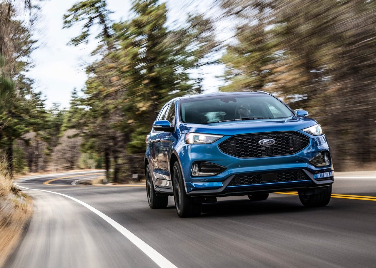 2020 Ford Edge ST Review - More Power Less Fuel
