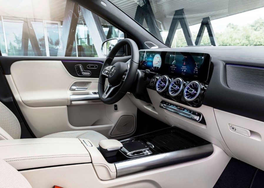 2020 Mercedes B-Class New Interior Colors