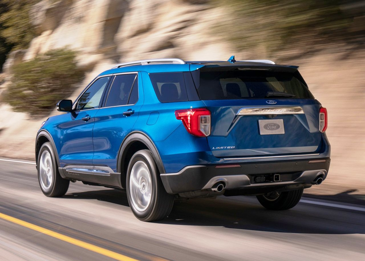 2020 Ford Explorer SUV Gas Mileage