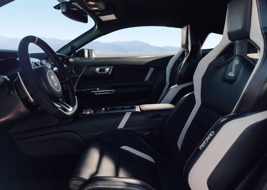 2020 Ford Mustang Shelby GT500 Cobra Jet Interior