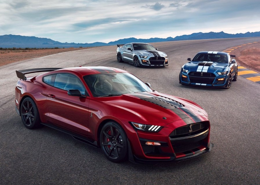 2020 Ford Mustang Shelby GT500 Configurations