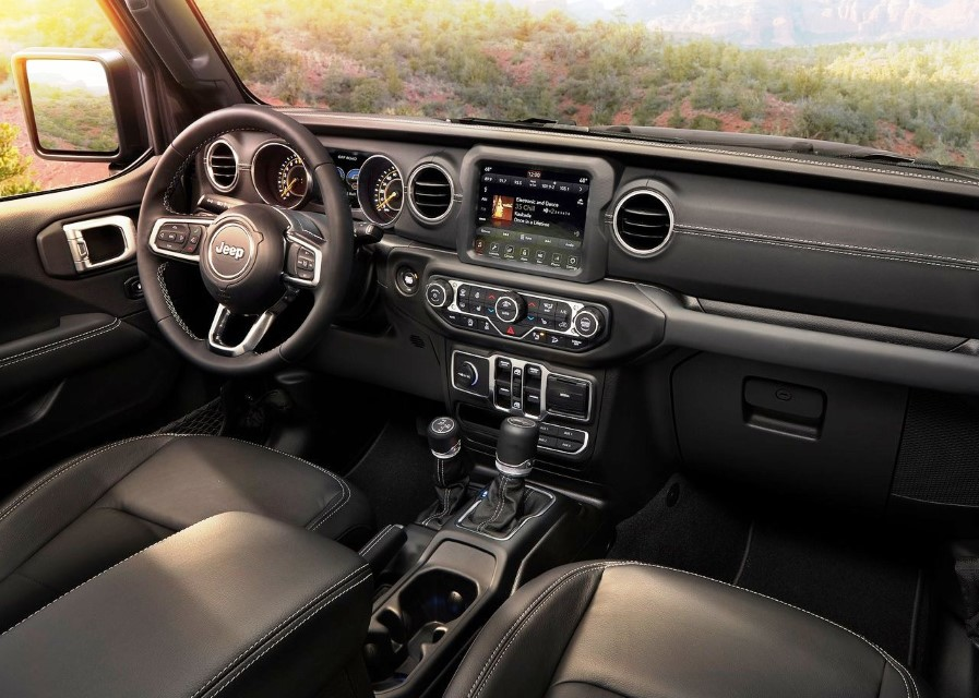 2020 Jeep Wrangler Unlimited Sport Sahara Multijet Features