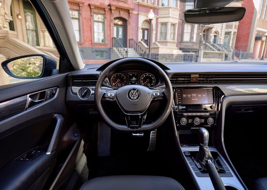 2020 VW Passat Capacitive Steering Wheel