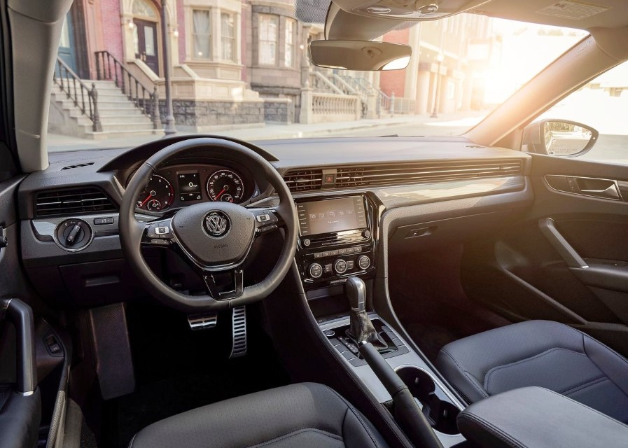 2020 VW Passat Interior Review the iq Drive