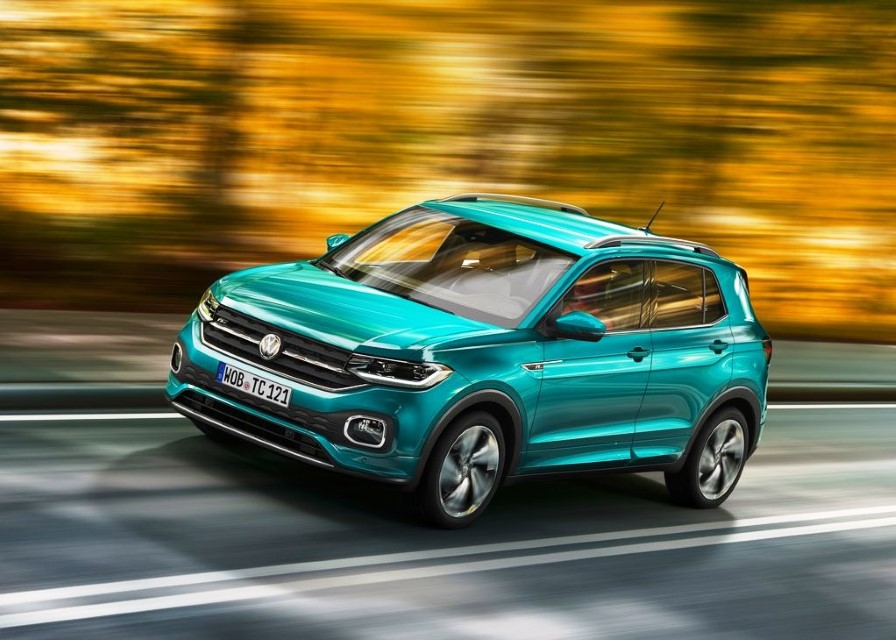 2020 VW T-Cross Accelerations
