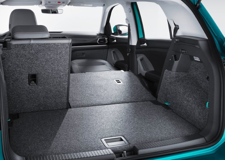 2020 VW T-Cross Trunk Capacity