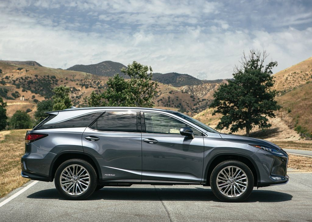 2021 Lexus RX 450hl Luxury Dimensions