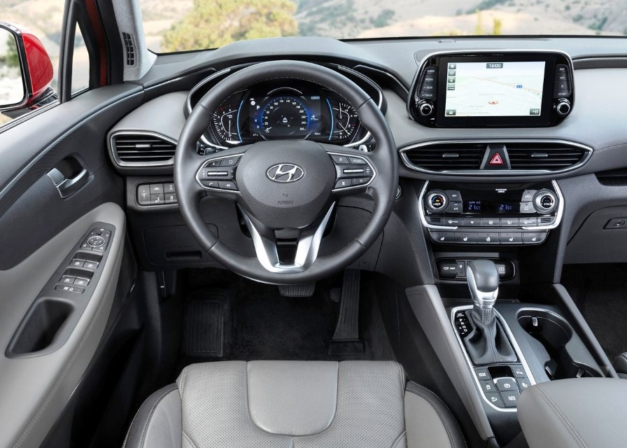 2021 Hyundai Santa Fe Price & Equipment