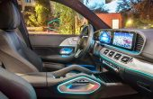 2020 Mercedes GLE 300d Interior Feature with New MBUX