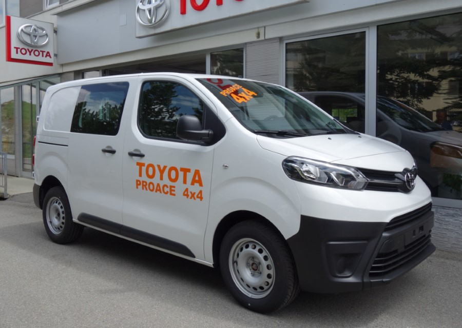 New Toyota Proace 4X4 Specifications