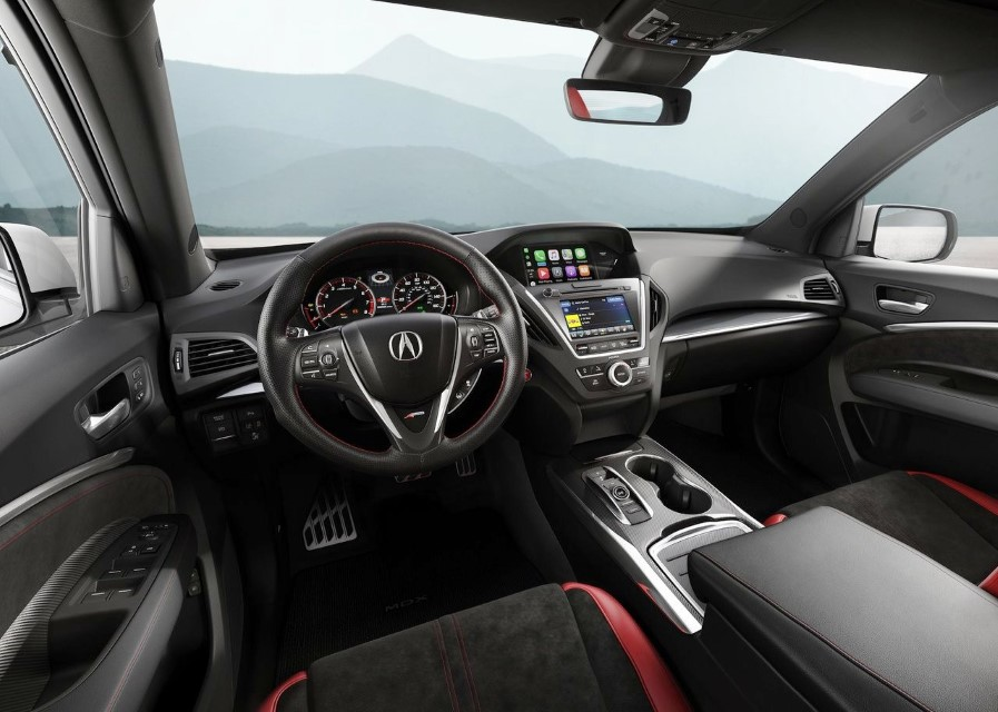 2021 Acura MDX Interior Features & Safety