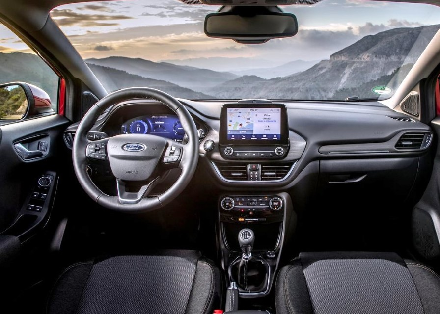 2022 Ford Puma Hybrid Interior Features
