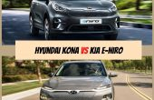 Kia Niro vs Hyundai Kona Electric